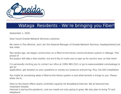 Oneida Pricing Guide-Wataga - 8-20-pdf (1) (1)